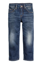 Relaxed Jeans - Dark denim blue - Kids | H&M 2