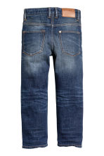 Relaxed Jeans - Blu denim scuro - BAMBINO | H&M IT 3