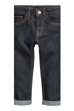 2-pack Slim Jeans - Dark denim blue/Black - Kids | H&M CN 5