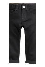 2-pack Slim Jeans - Dark denim blue/Black - Kids | H&M 4