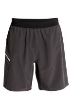 Knee-length sports shorts - Black - Men | H&M 2
