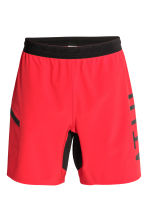 Knee-length sports shorts - Red - Men | H&M 2
