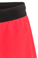 Knee-length sports shorts - Red - Men | H&M 4