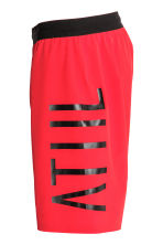 Knee-length sports shorts - Red - Men | H&M 3