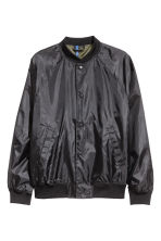 Baseball jacket - Black - Men | H&M 2