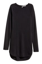 Abito in jersey increspato - Nero - DONNA | H&M IT 2