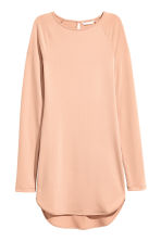 Crêpe jersey dress - Powder beige - Ladies | H&M 2
