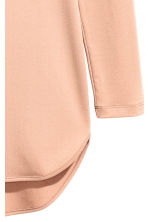 Crêpe jersey dress - Powder beige - Ladies | H&M 3