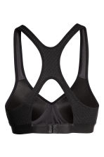 Push-up sports bra - Black -  | H&M 3
