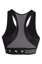 Sports bra Low support - Black - Ladies | H&M 3