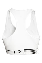Reggiseno sportivo Low support - Bianco - DONNA | H&M IT 3
