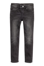 Superstretch Skinny fit Jeans - Black washed out - Kids | H&M CN 2