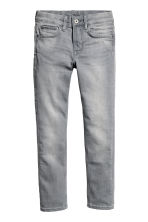 Skinny fit Jeans - Grey washed out - Kids | H&M CN 1