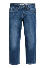Superstretch Slim fit Jeans - 深牛仔蓝 - 儿童 | H&M CN 2