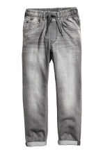 Denim joggers - Grey washed out - Kids | H&M 2