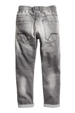 Denim joggers - Grey washed out - Kids | H&M 3