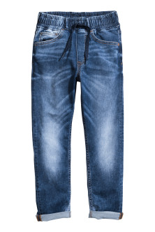 Pantaloni de jogging din denim