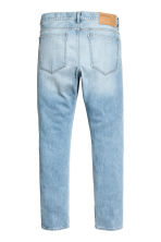 Slim Low Jeans - Light denim blue - Men | H&M CN 3