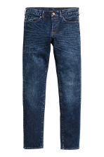 Slim Low Jeans - Dark denim blue - Men | H&M CN 2