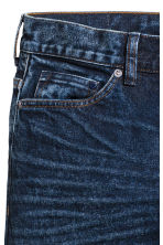 Slim Low Jeans - Dark denim blue - Men | H&M CN 4
