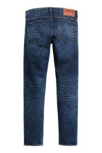 Slim Low Jeans - Dark denim blue - Men | H&M CN 3