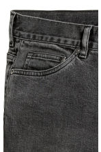Slim Low Jeans - Black washed out -  | H&M 4