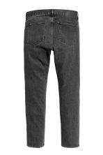 Slim Low Jeans - Black washed out -  | H&M 3