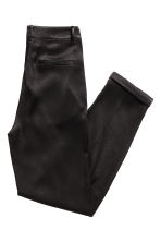 Satin trousers - Black -  | H&M 3