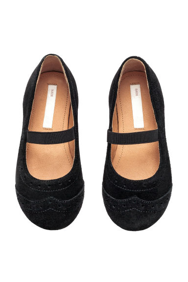 Suede shoes - Black - Kids | H&M 1