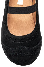 Suede shoes - Black - Kids | H&M 4