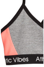 Sports top - Grey marl - Kids | H&M 2