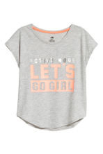Top training - Gris chiné - ENFANT | H&M FR 2