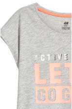 Top training - Gris chiné - ENFANT | H&M FR 3