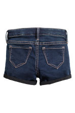 Denim shorts - Dark denim blue - Kids | H&M 3