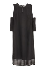 Crêpe tunic - Black - Ladies | H&M CN 2