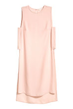 Crêpe tunic - Powder pink - Ladies | H&M CN 2