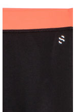 Sports tights - Black -  | H&M 3