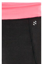Sports tights - Black -  | H&M 2