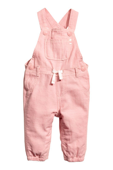 Dungarees - Light pink -  | H&M 1
