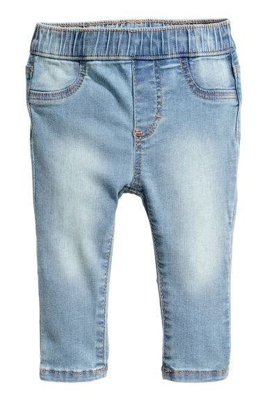Treggings - Light denim blue -  | H&M CN 1