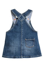 Dungaree dress - Denim blue -  | H&M 2