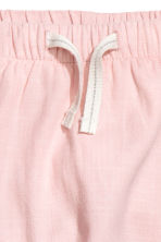 Lined pull-on trousers - Light pink -  | H&M 2
