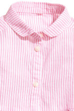 Cotton dress - Pink/White striped -  | H&M 4