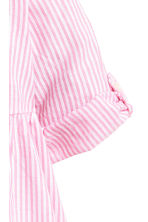 Cotton dress - Pink/White striped -  | H&M 3