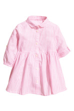 Pink/White striped