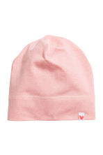 Lot de 2 bonnets en jersey - Rose clair - ENFANT | H&M FR 2