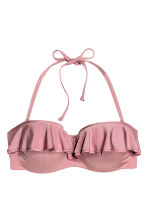 Balconette bikini top - Rouge - Ladies | H&M 2
