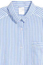 Cotton nightshirt - Lt.blue/Narrow strip - Ladies | H&M CN 3