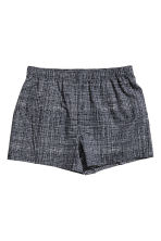 3-pack boxer shorts - Dark blue/Checked - Men | H&M CN 2
