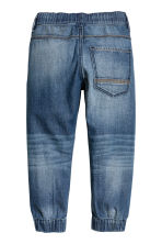 2-pack denim joggers - Denim blue/Light denim blue -  | H&M 3